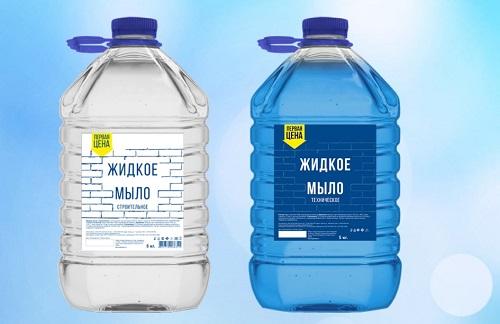 жидкое мыло как пластификатор